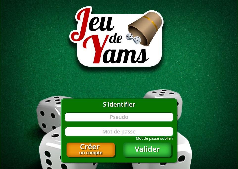 Jouer au Yams en Ligne